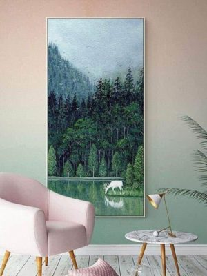 Spring Forest | Unframed Canvas Art