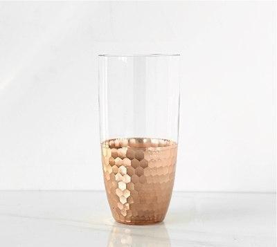 Lily-May Ruby Gold Vase Vase Vista / rose gold
