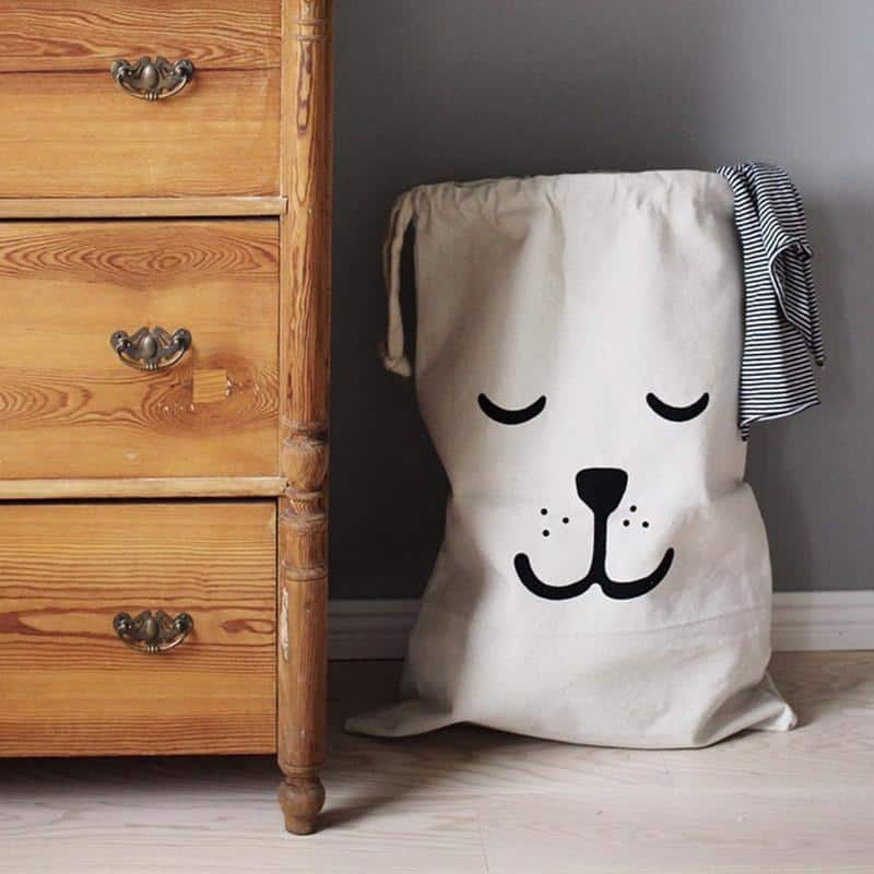 Wabroom Washden Storage Bags/Organizer unique and elegant Storage bag Shy Bear
