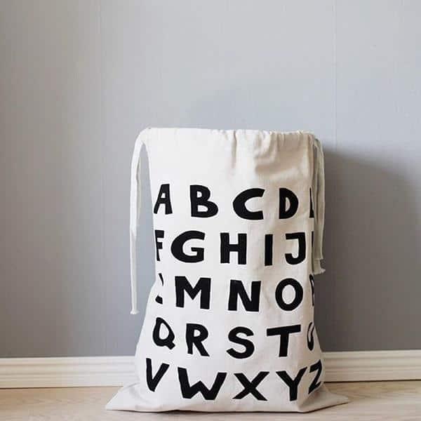 Wabroom Washden Storage Bags/Organizer unique and elegant Storage bag Letters