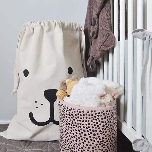 Wabroom Washden Storage Bags/Organizer unique and elegant Storage bag Smiling Bear
