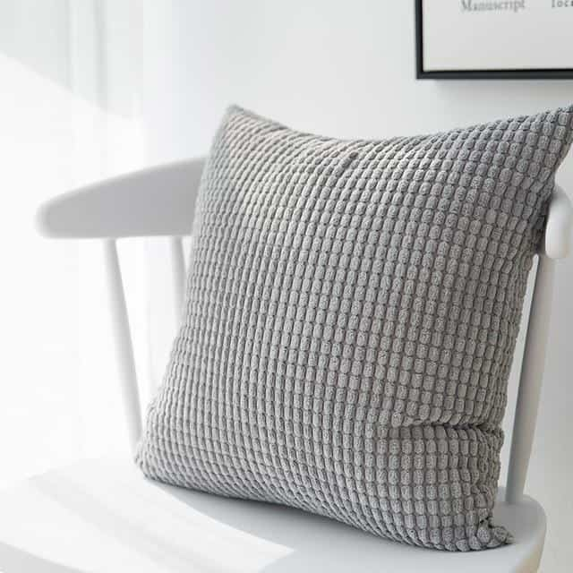Softly by Celiné / Pillowcase Pillow 45x45cm / Gray
