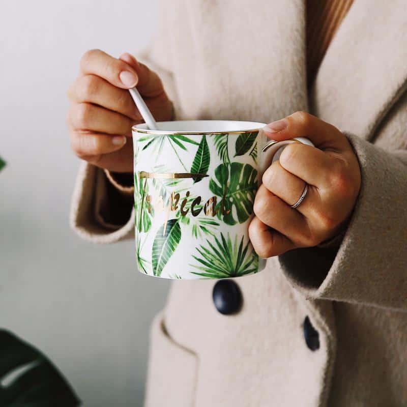 Luna by Una Hubmann Porcelain Mugs Mug