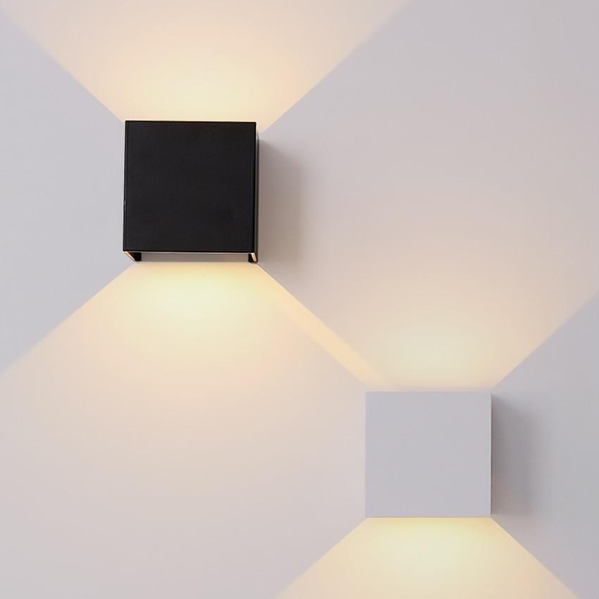 Wall Sconce Veronica Cube | Light Angle Adjustment
