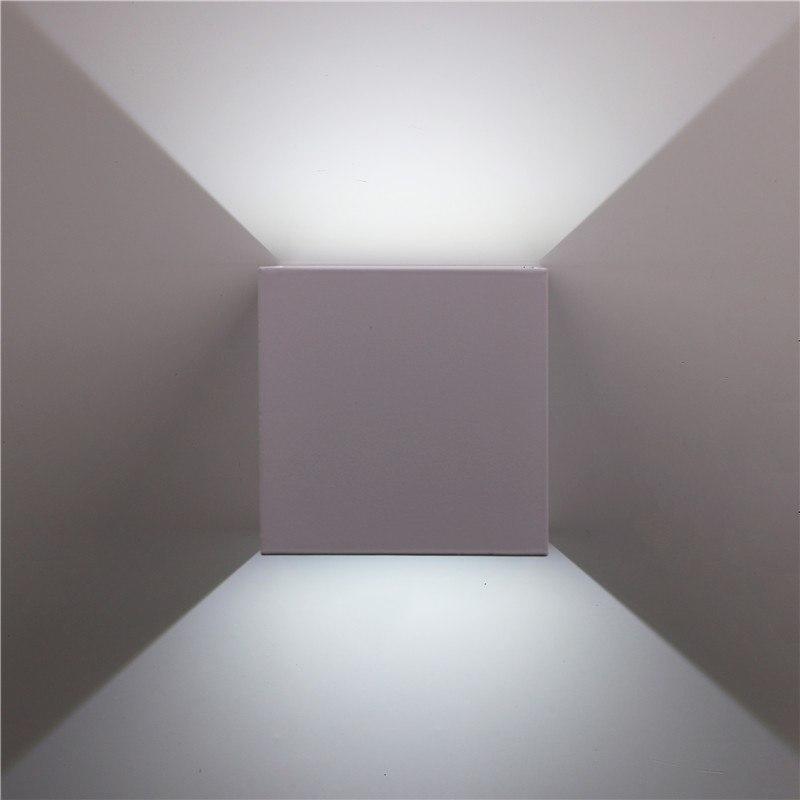 Veronica Cube S2 Wall Lamp Deco unique and elegant Wall lamp Arctic white / 7W / Cold White