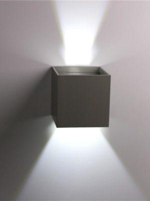 Wall Sconce Veronica Cube   Light Angle Adjustment