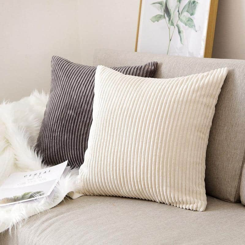 Flocking Cushion by Celiné Pillow