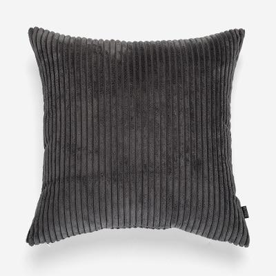 Flocking Cushion by Celiné Pillow Dark Grey / 60x60cm