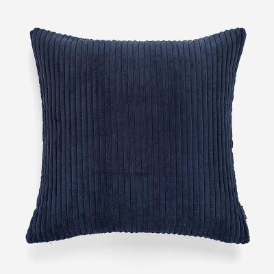 Flocking Cushion by Celiné Pillow Blue / 60x60cm