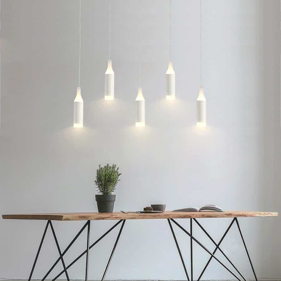 Pipe Rocklight LED Kitchen Island Pendant Lighting