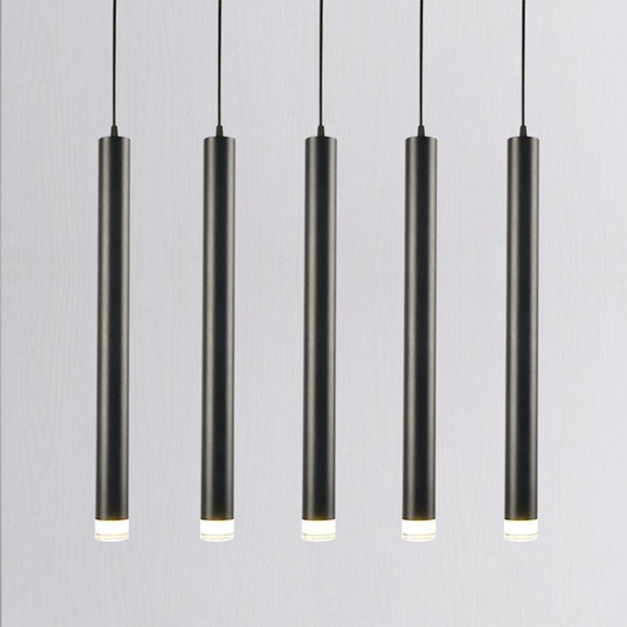 Long Rocklight Tube Kitchen Island LED Pendant Lighting