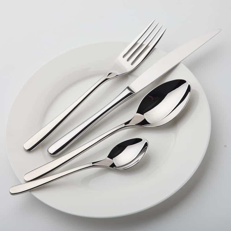 Essential Silver Flatware Set | 24pcs