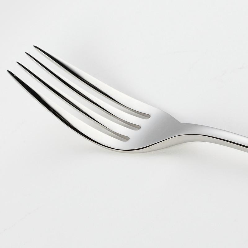 Essential Silver Flatware Set | 24pcs