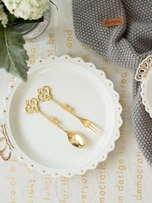 Bergmann Diamond Shape Dinnerware | Jewelry Plate