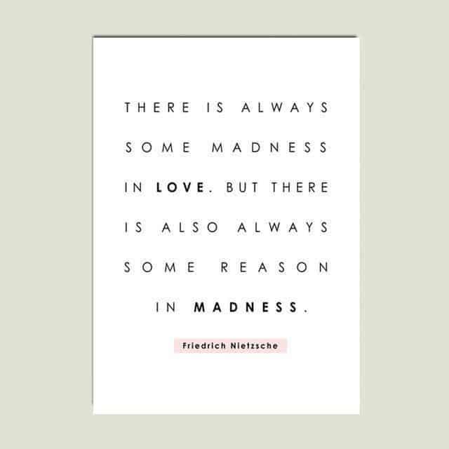 Love vs. Madness
