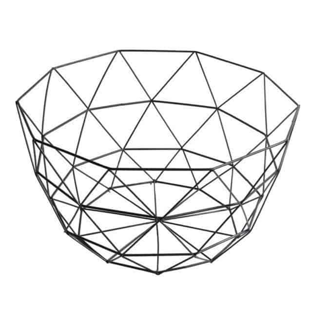 Rottogeometry by Frederick Vaux / Storage Baskets Basket Large
