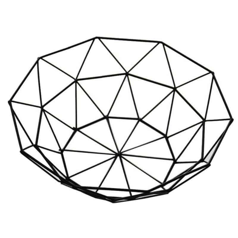 Rottogeometry by Frederick Vaux / Storage Baskets Basket Medium