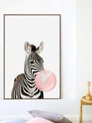 Happy Animals – Say Cheese | Unframed Canvas Art