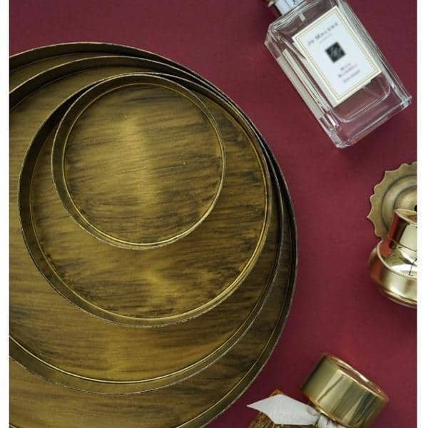 Frederick Chic Tray / Metal unique and elegant Tray