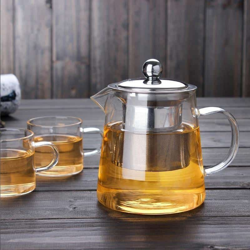 Yomoto Nathalie Glass Kettle 1200ml /4+1pcs