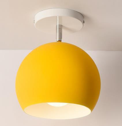 Scandinavia Personality Entrance Lamp Wall lamp Yellow