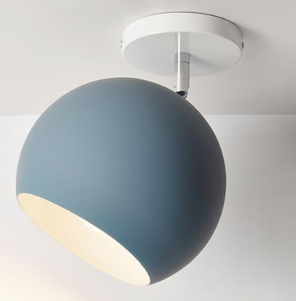 Scandinavia Personality Entrance Lamp Wall lamp Deep Blue