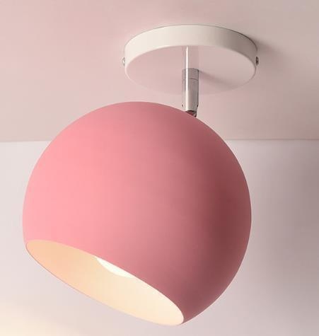 Scandinavia Personality Entrance Lamp Wall lamp Pink