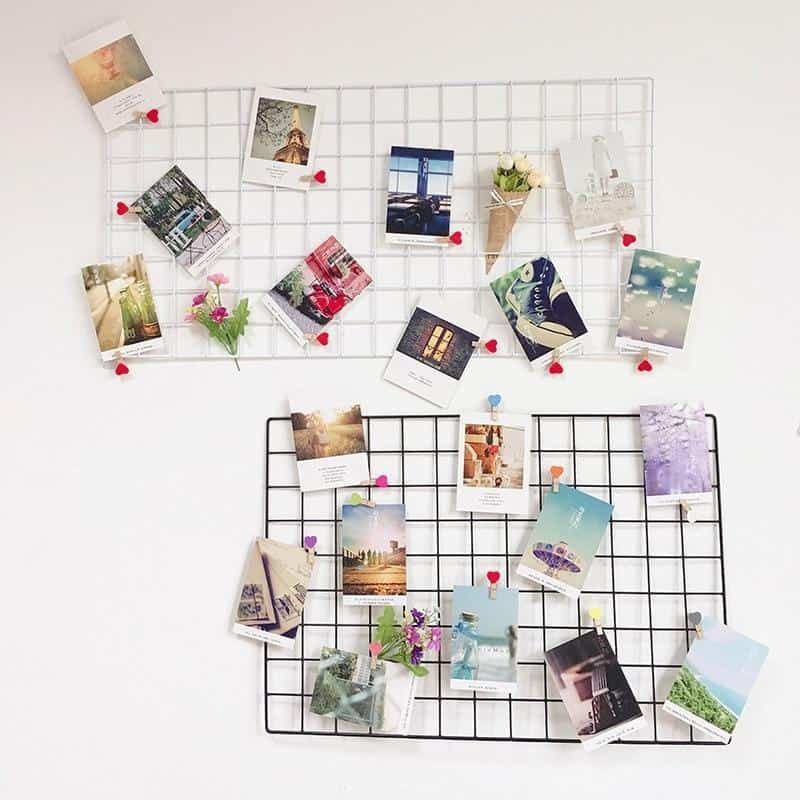 Clean Frame | Metal Photo Wire Grid | Wall Wire Grid | Panel