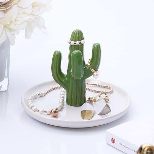 Cactula Capa Jewelery Organizer/Ring Holder