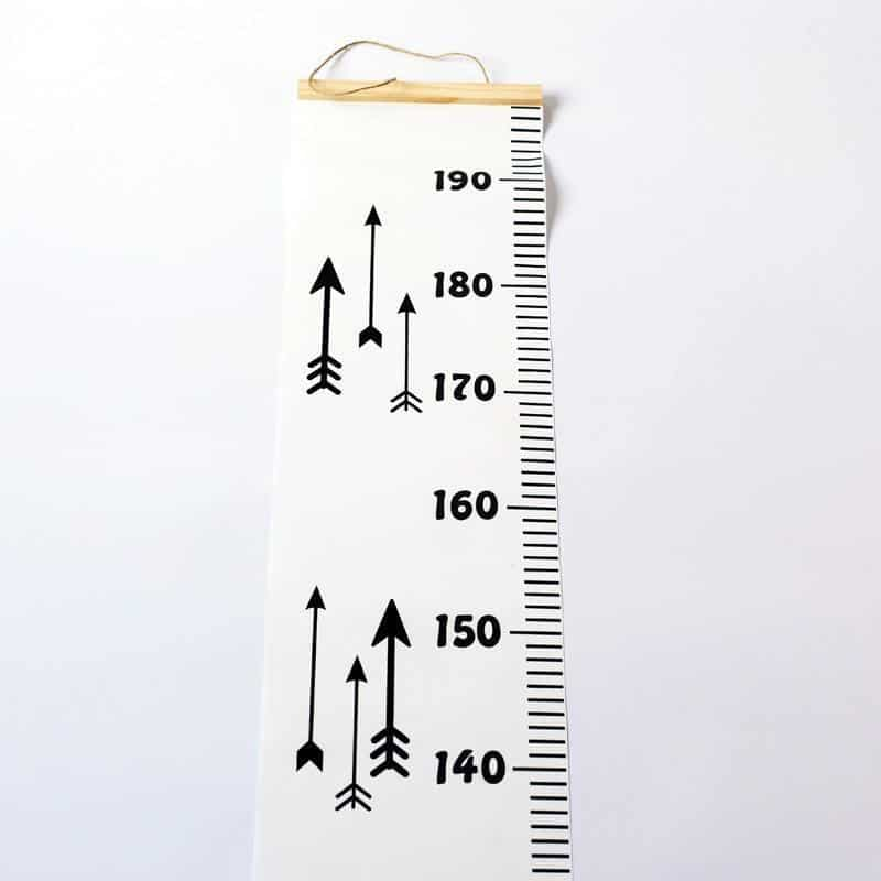 Ruler-in-the-Room Height Ruler