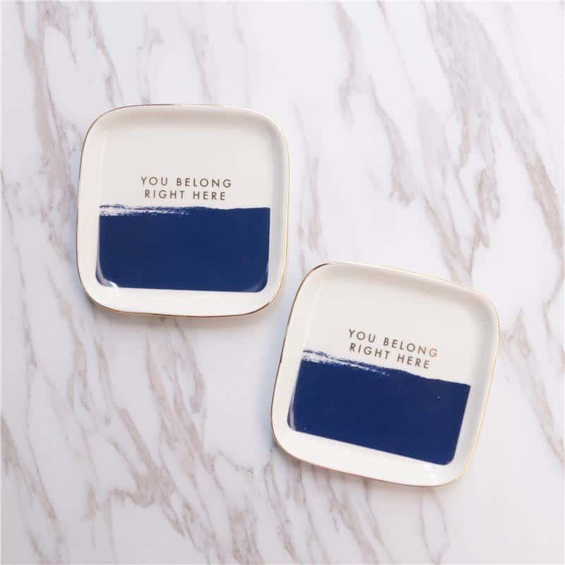 Tinker Porcelain Handpainted Plate/Decorative Tray unique and elegant Plates