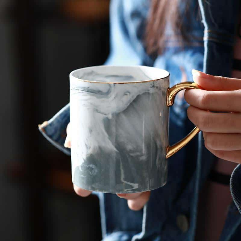 Marble Porcelain Mug