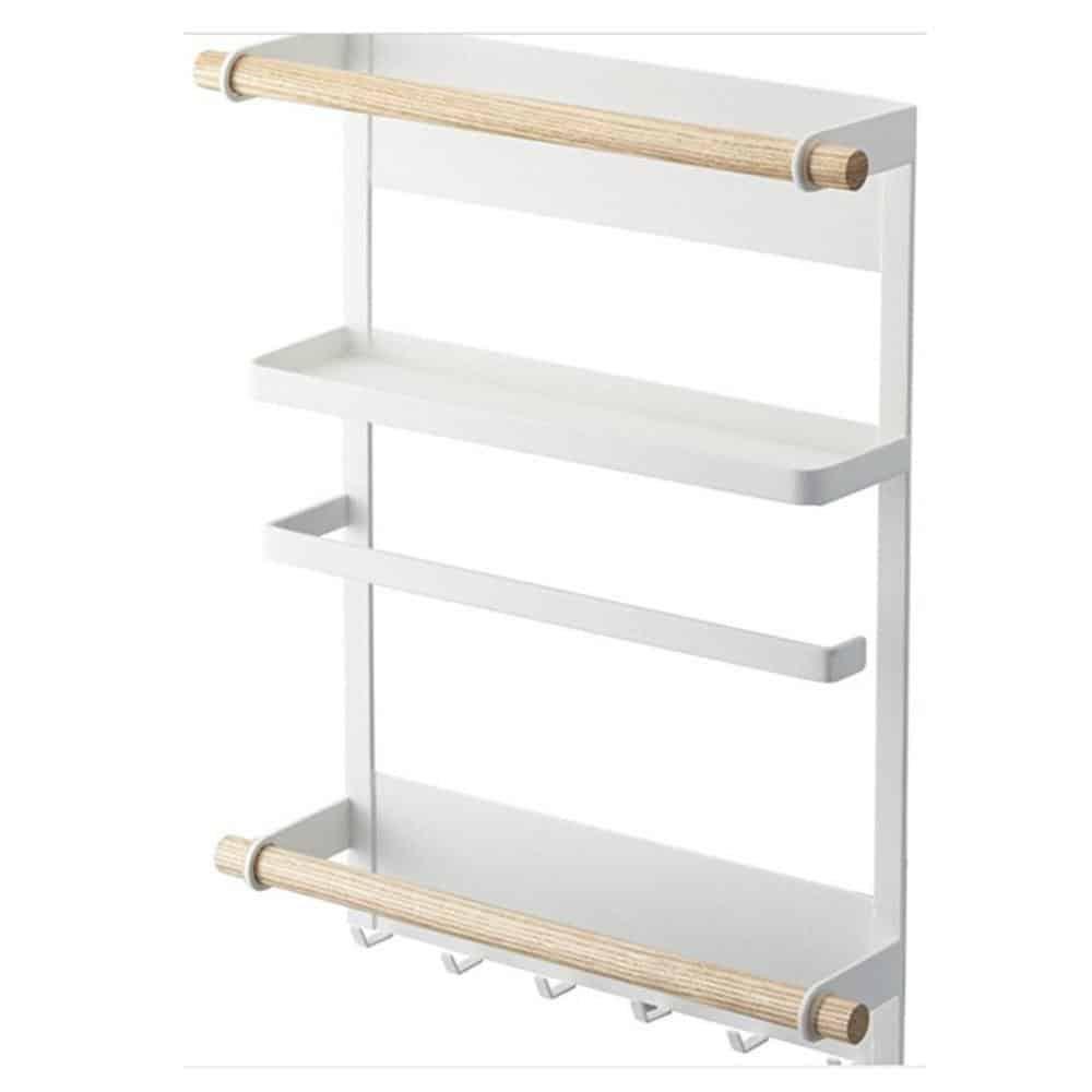 CLEAN O2 | Magnetic Fridge Kitchen Rack | Kitchen Organizer and Tissue Holder