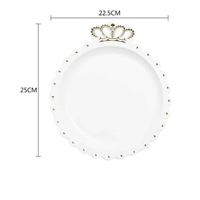 Crown plate - Gold
