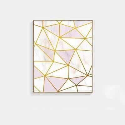Fabulous Pink Marble | Unframed Canvas Art