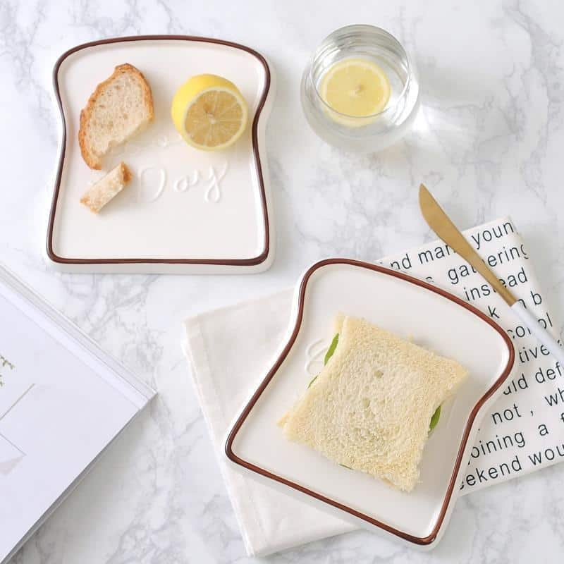 Renard Adorable Toast Plate