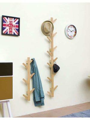 Capri & Pipe Tree Wood Wall Hook