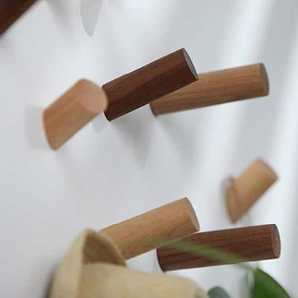 Wood Montgomery Wall Hook / 3pcs