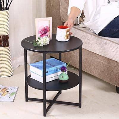 Haruno Wood Table Side table Black