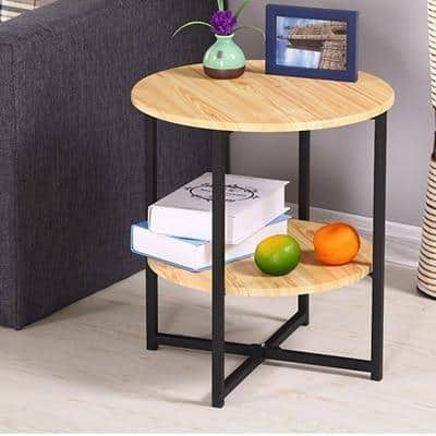 Haruno Wood Table Side table Natural