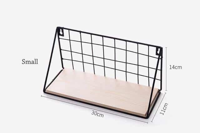 Sinclair Manhattan Shelf Shelf Black / Small