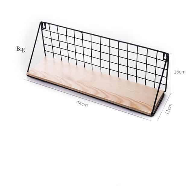 Sinclair Manhattan Shelf Shelf Black / Large