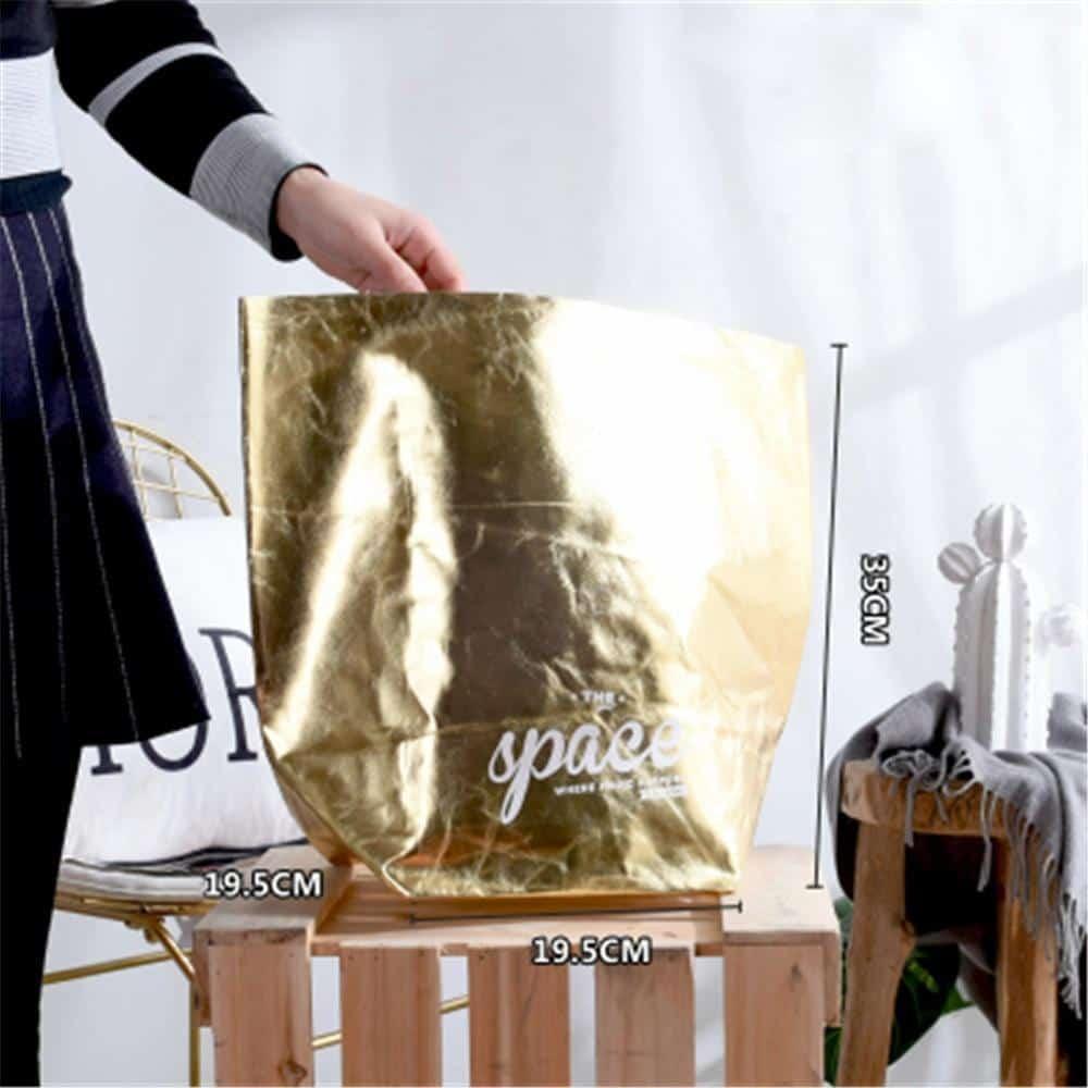 Flutterbag by Jasmine Bergmann Storage Gold/Black Storage bag
