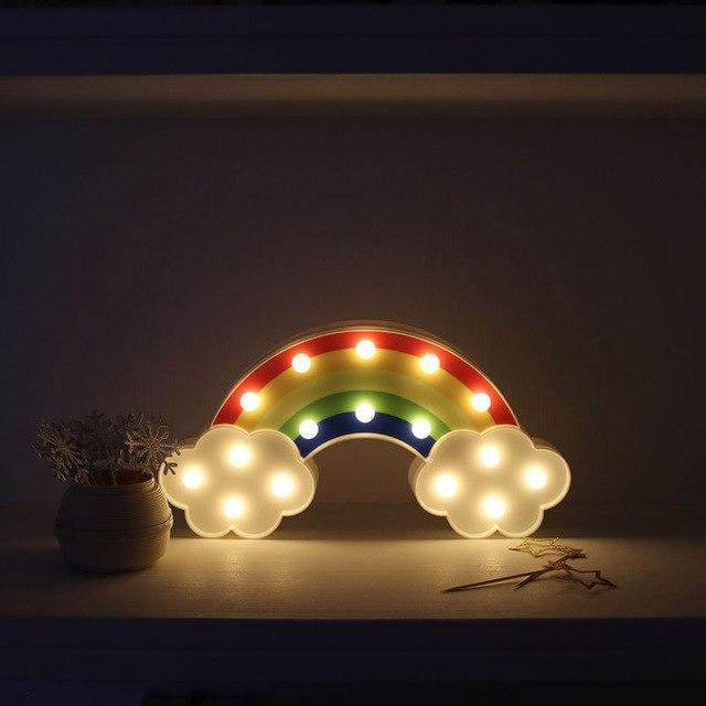 Superstar Rainbow Wall/Table Lamp Table/Wall lamp Default Title