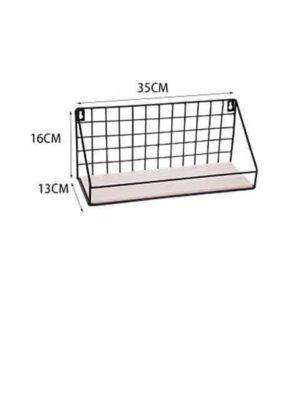 Sinclair Manhattan | Wooden Iron Shelf | Industrial Design