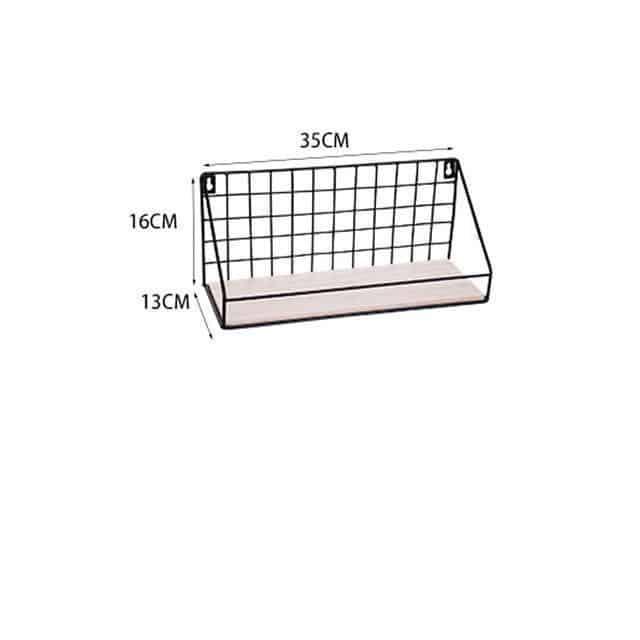 Sinclair Manhattan Shelf Shelf Black / Small with beam