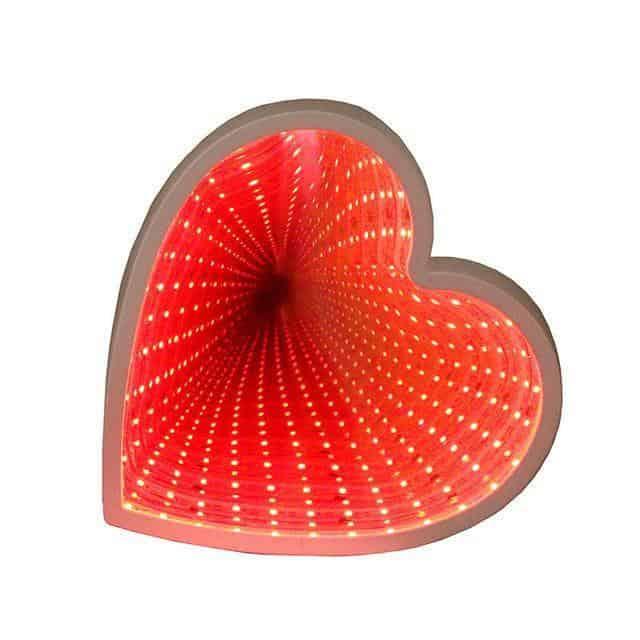 Supernova Tunnel Table Lamp Table/Wall lamp Heart