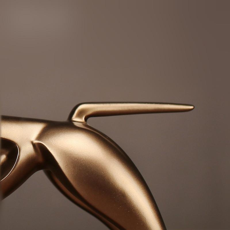 TAURUS Golden Sculpture - Artist Design