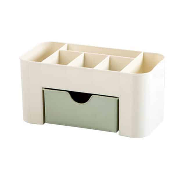 Caroline by Chloé Cosmetic Storage Box unique and elegant Cosmetic storge box Green Makeup Box / M