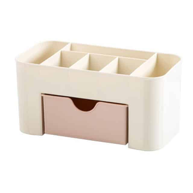 Caroline by Chloé Cosmetic Storage Box unique and elegant Cosmetic storge box Pink Makeup Box / M